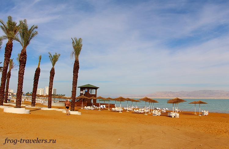 Пляж Эйн-Бокек Мертвое море