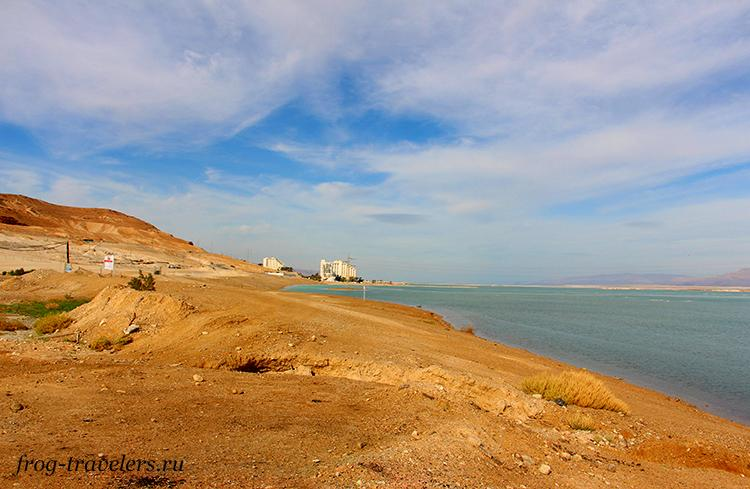Пляжи Неве Зоар Мертвое море