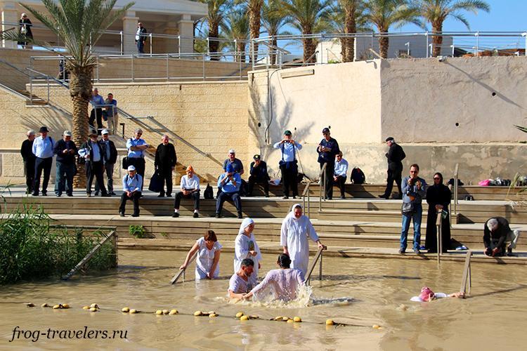 Место крещения Иисуса