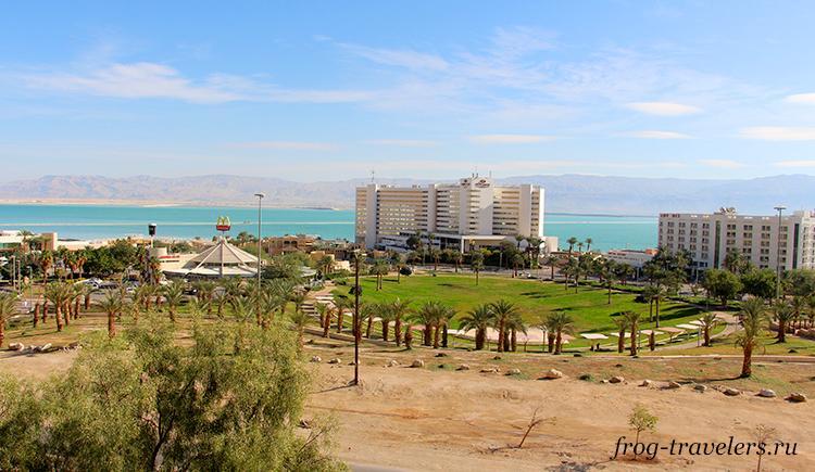 Гостиницы Мертвого моря Израиль
