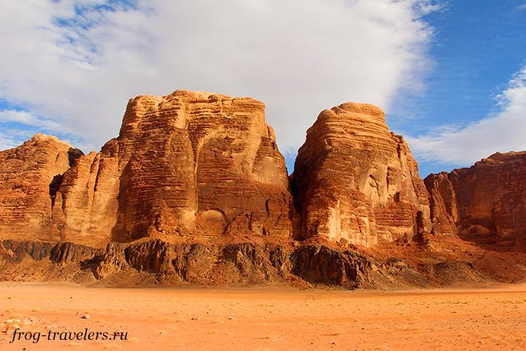Пустыня в Иордании