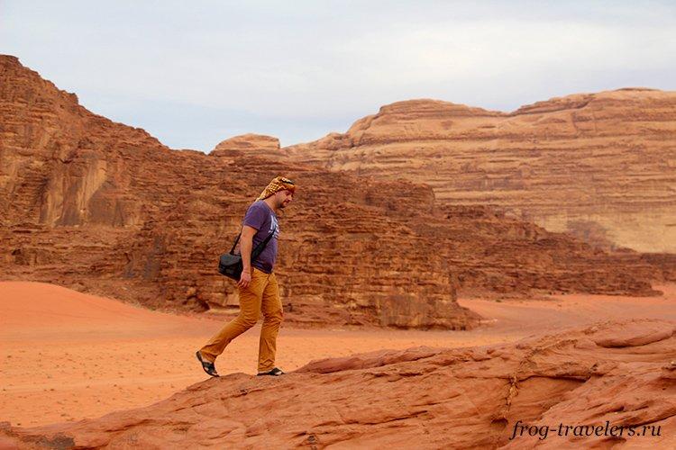 Самостоятельно в пустыню Вади Рам