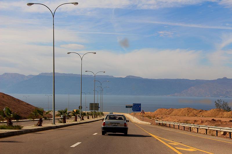 Трасса вдоль Красного моря