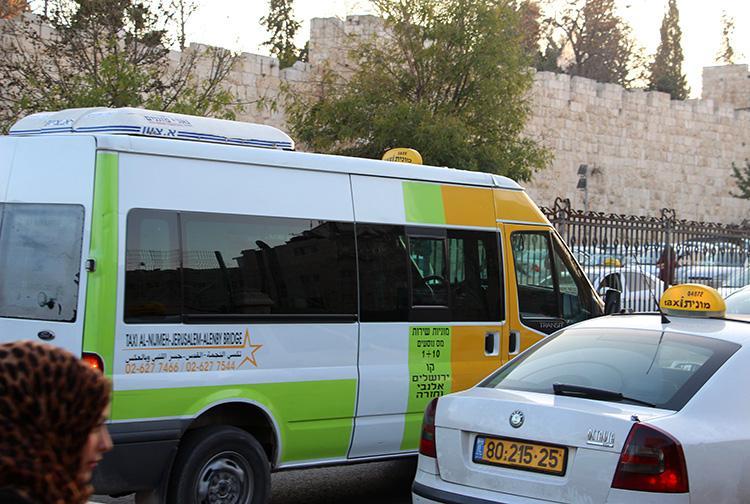 Маршрутка Мост Алленби - Иерусалим