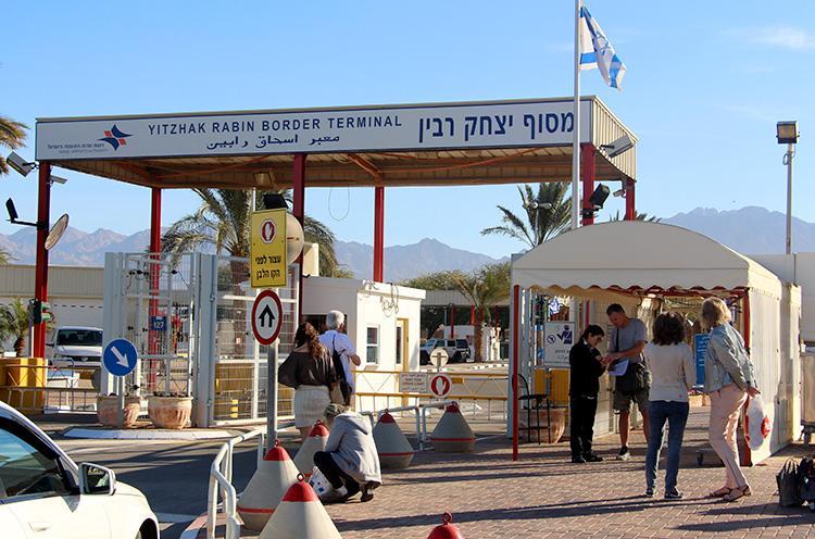 Из Израиля в Иорданию