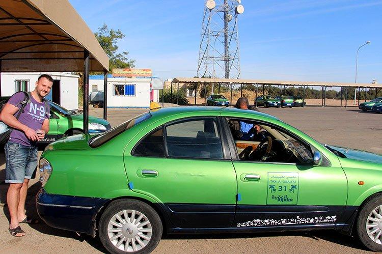 Такси от границы в аэропорт Акабы