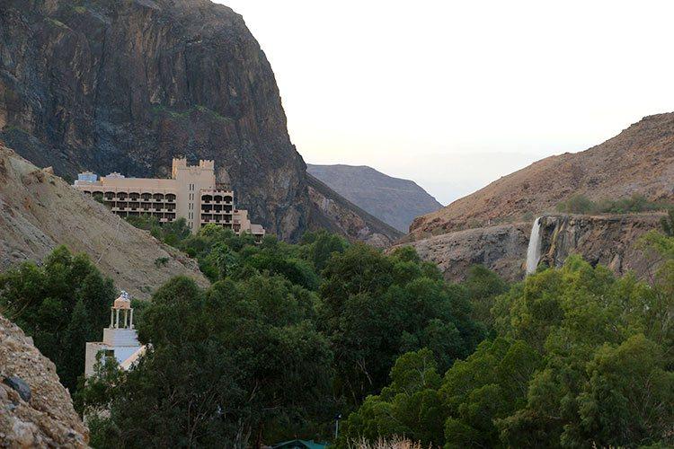 Горячие источники Маин в Иордании