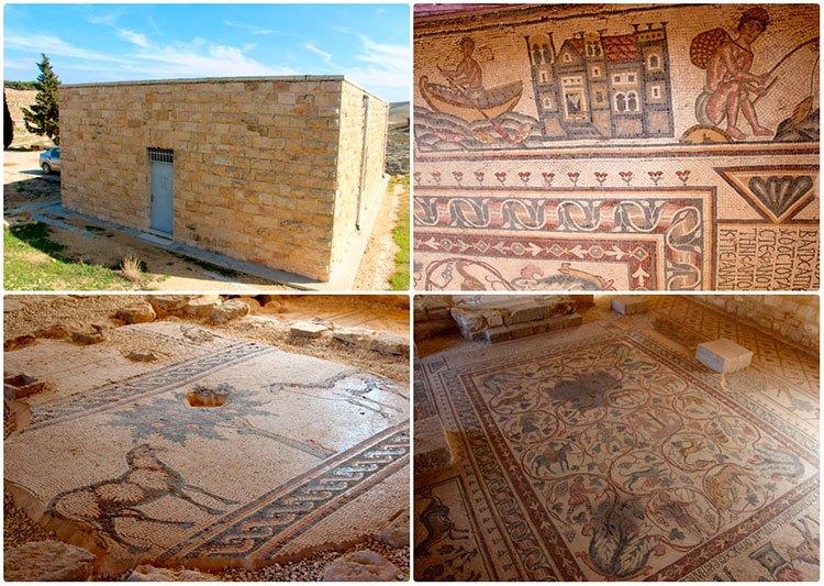 Мозаика на окраине Мадабы