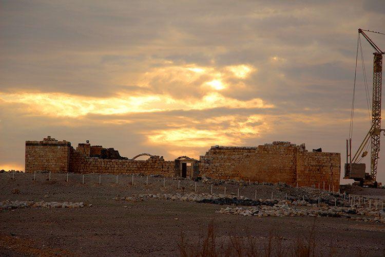 Замок Аль-Халлабат