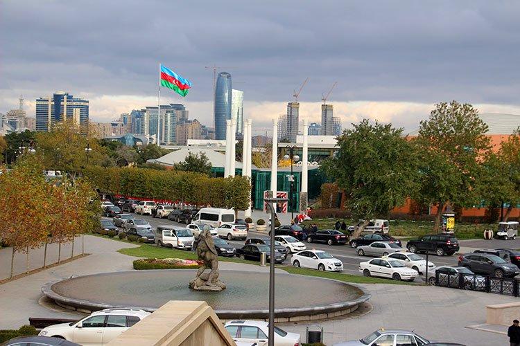 Движение в центре Баку