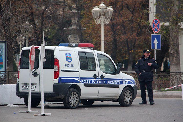 Полиция в Азербайджане