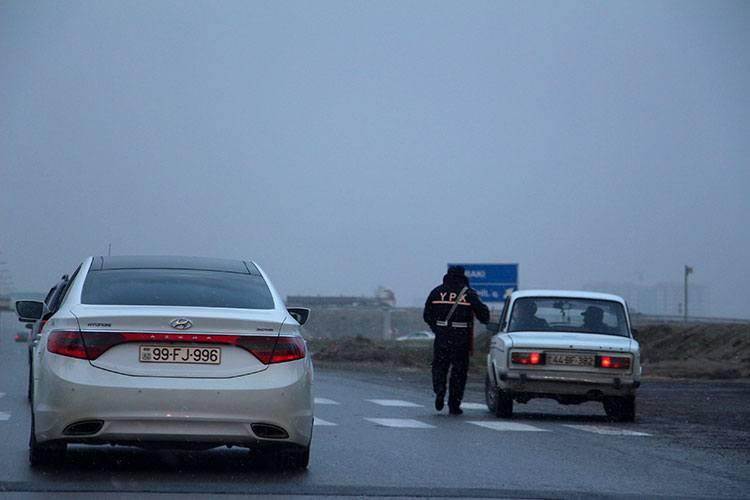 ГАИ в Азербайджане